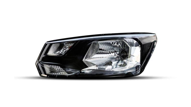 La Pick Up Saveiro 2022 cuenta con faros principales de halógeno para iluminar tu camino.