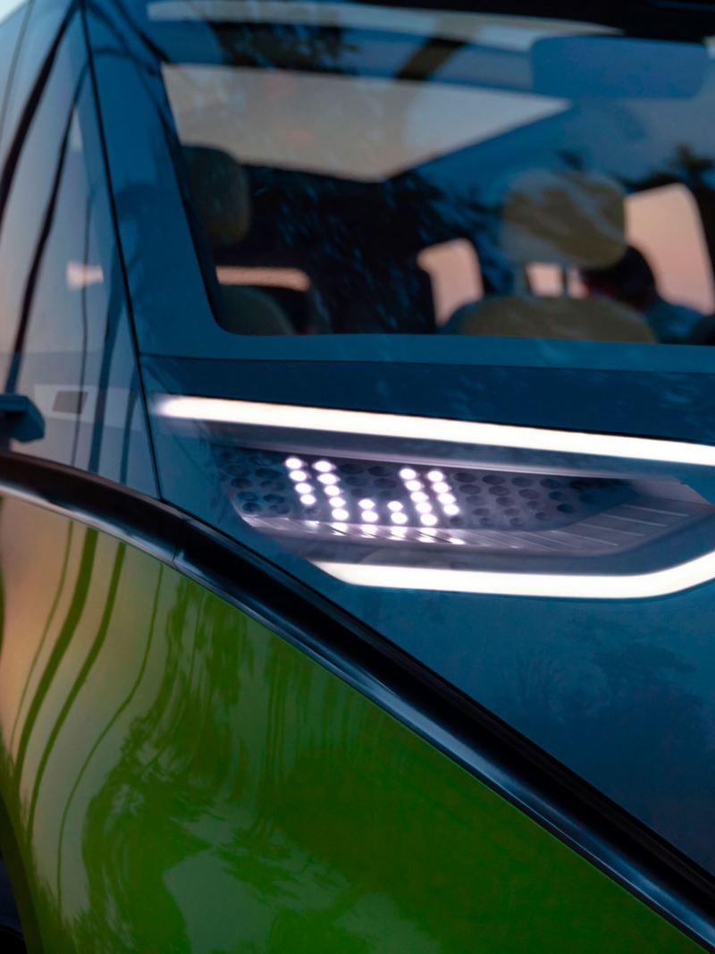 Faros delanteros del ID. Buzz, vehículo prototipo de VW