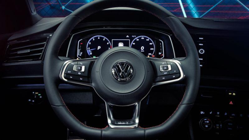 Volante con paletas de cambio del Jetta GLI 2021 de Volkswagen