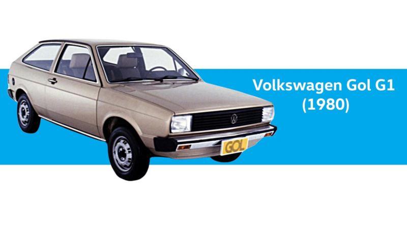 VW Gol G1 del año 1980 - La primera versión de este auto clásico
