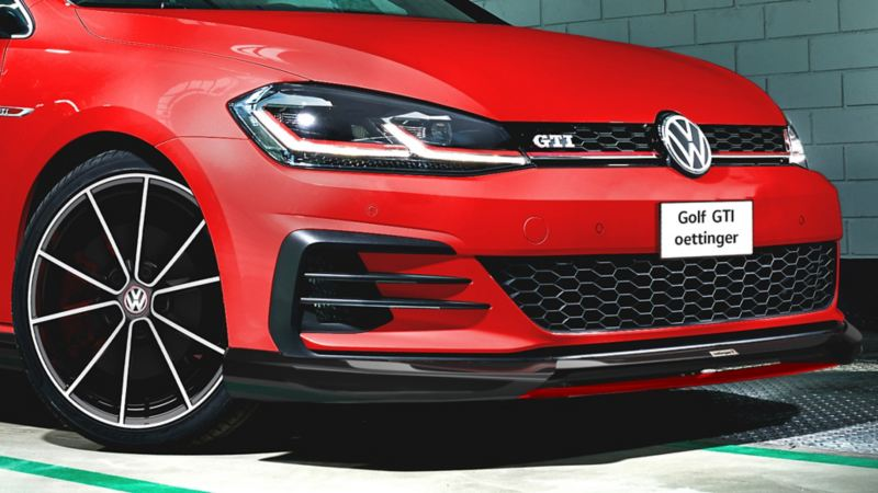Spoiler frontal de Golf Gti oettinger - Carro deportivo Volkswagen