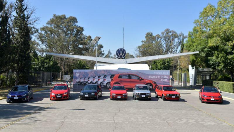 Versiones de Golf producidas en la planta de VW Puebla