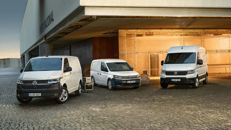Volkswagen Transporter, Caddy ja Crafter PRO