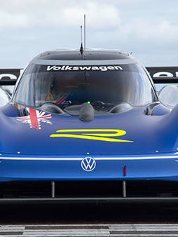 Volkswagen ID.R sul circuito Nürburgring