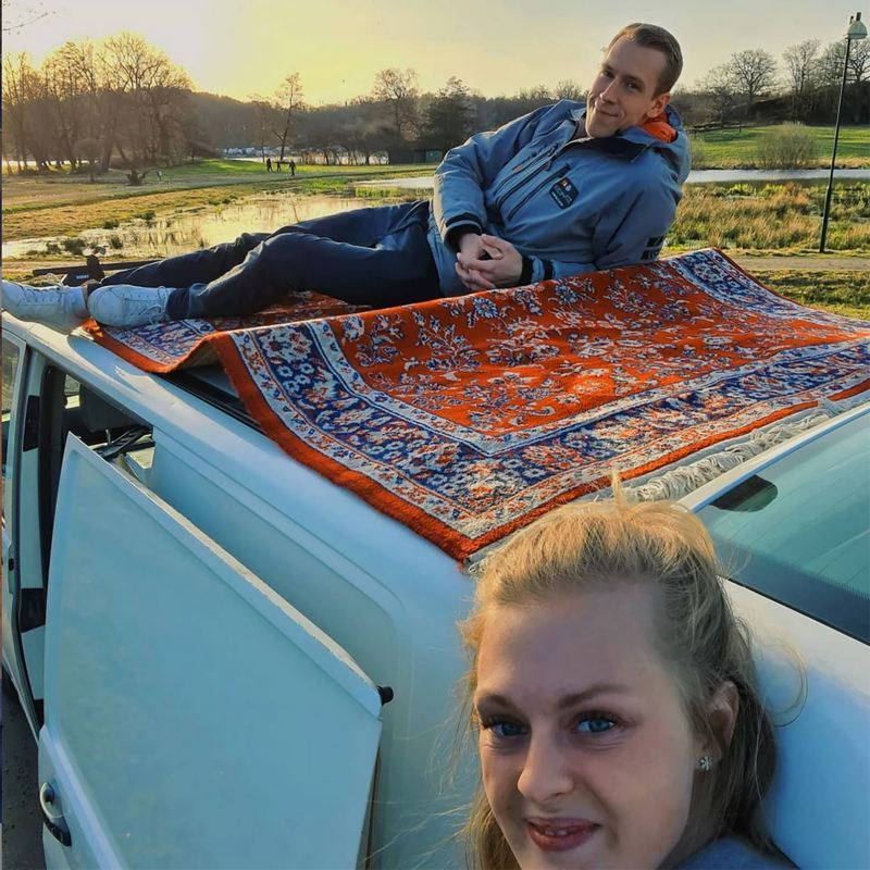 Plåtisinspiration från Sofia Lindhe och Anton Pehrson från tv-serien Gift vid första ögonkastet i @regnbagsreggad på instagram