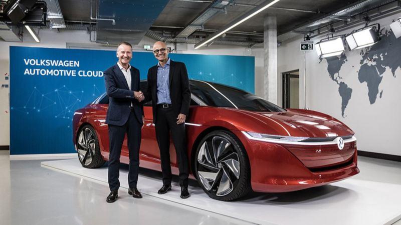 Colaboración Volkswagen y Microsoft en autos eléctricos