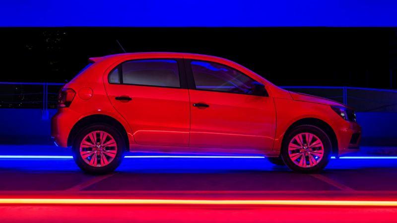 Gol con pintura cuidada con nano-protección, incluido en el Servicio de Mantenimiento de tu Volkswagen
