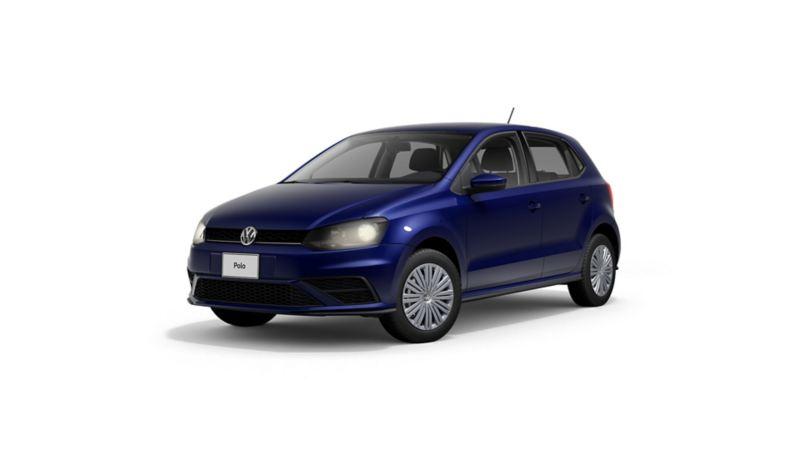 Imagen exterior de auto sedán Polo 2021 de VW