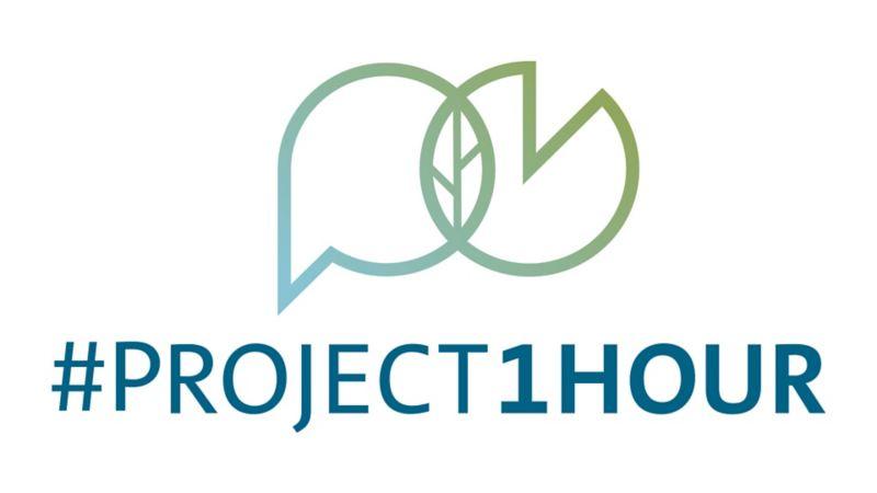 Logo #Project1Hour iniciativa de VWMX