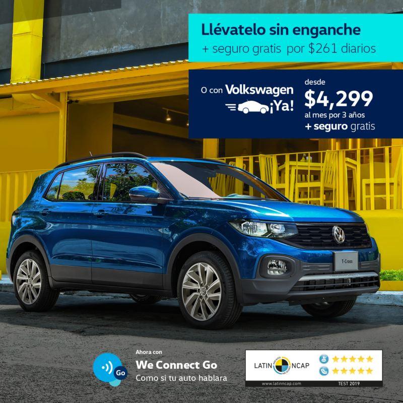 T-Cross 2021 Volkswagen - Promoción de Agosto