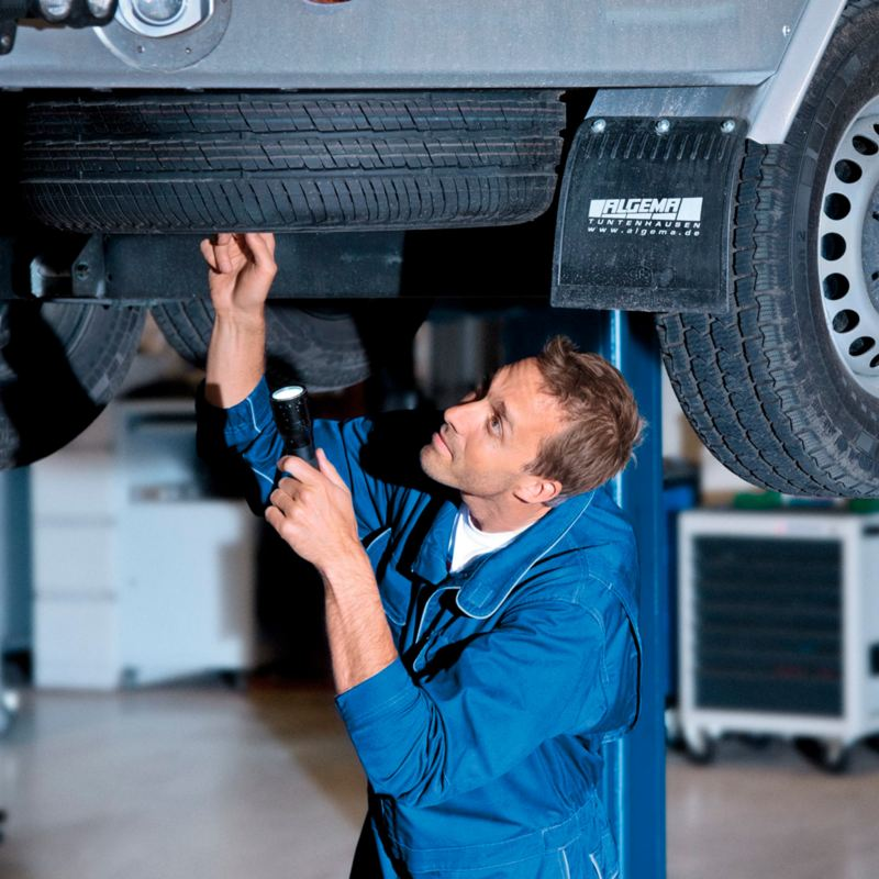 Flota en mantenimiento por el servicio a flotillas Volkswagen, ideal para resolver la necesidad de transporte