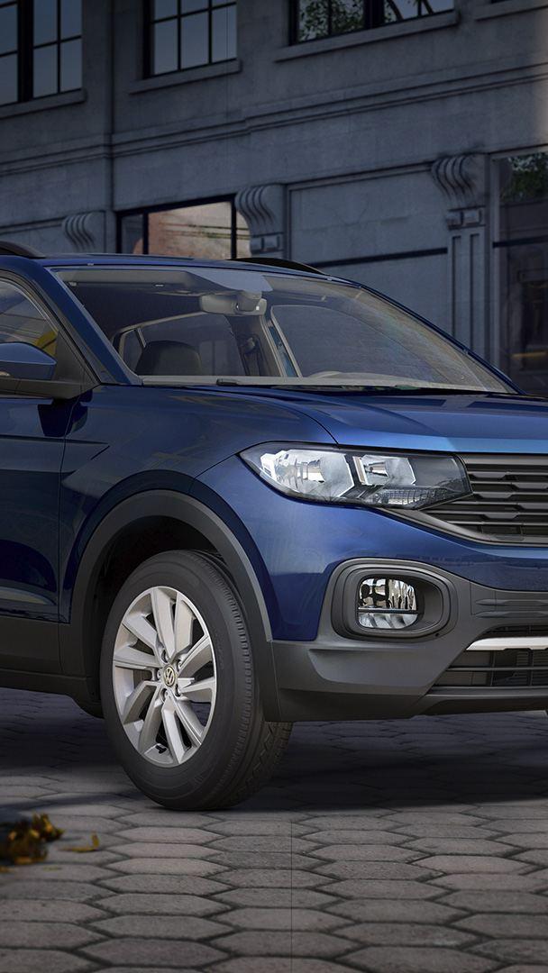 Imagen de promoción de camioneta SUV T-Cross 2021 de Volkswagen