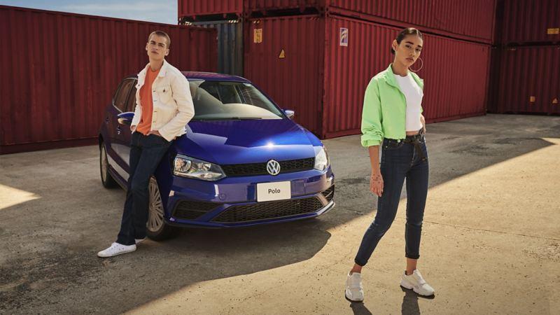 Imagen de Polo 2021 en promoción durante este mes con Volkswagen México