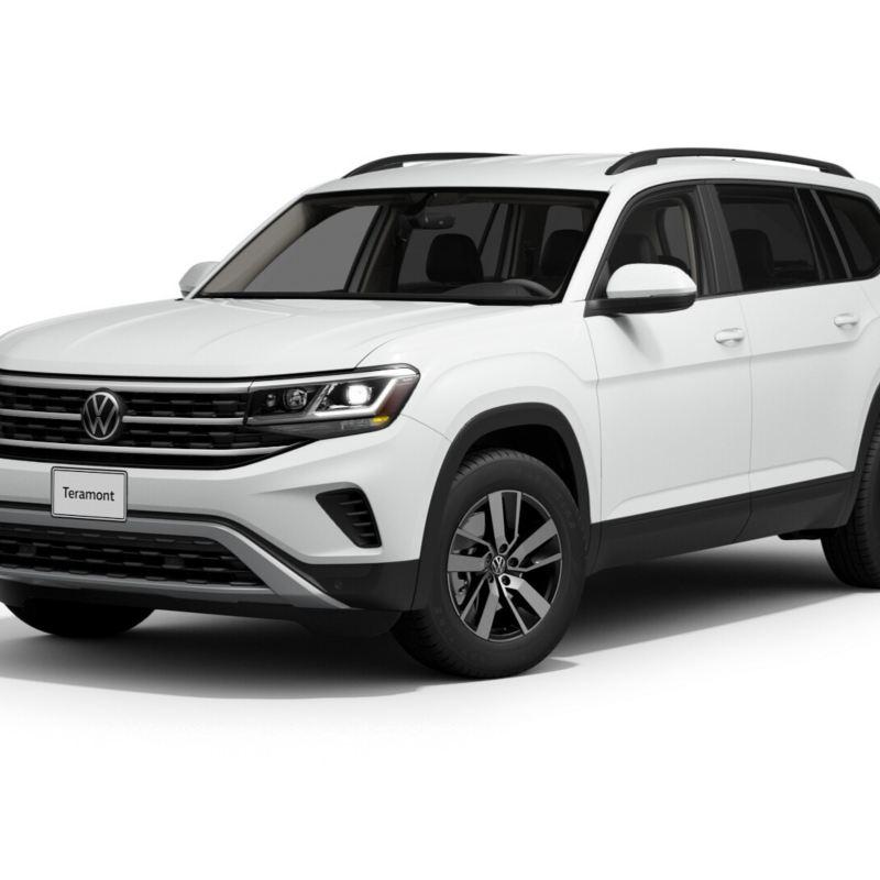 Imagen exterior de camioneta SUV nuevo Teramont 2021 color blanco