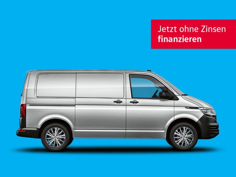 Der TradePort Finanzierungsangebot für den Transporter Kastenwagen.