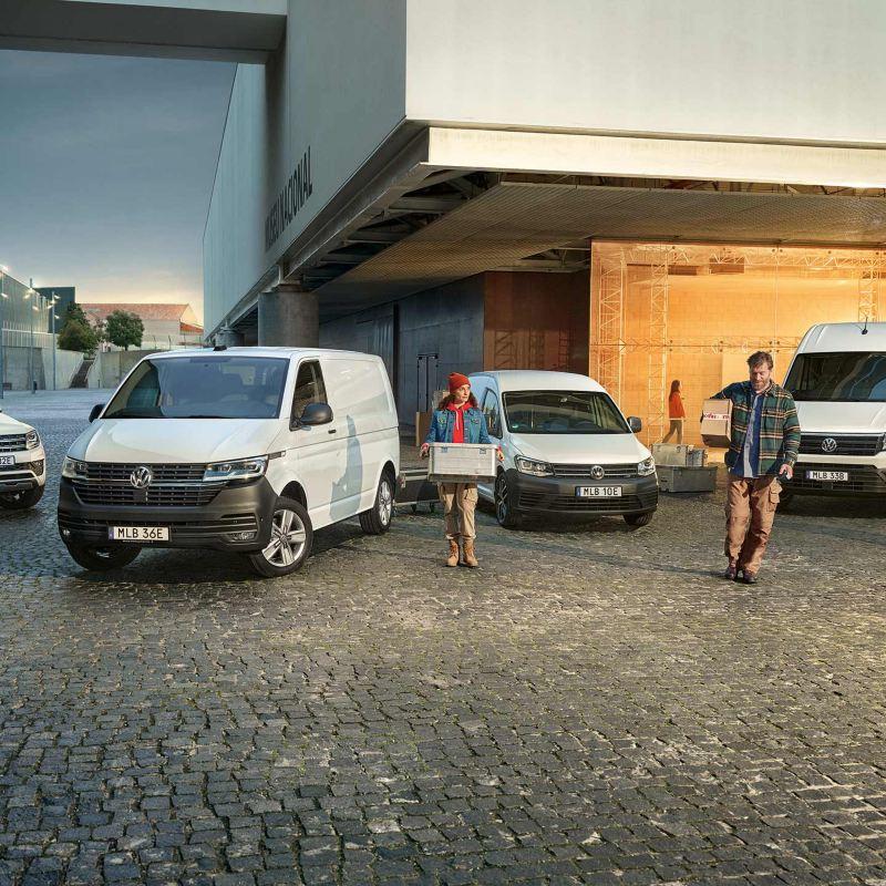 VW Transportbilars modellprogram