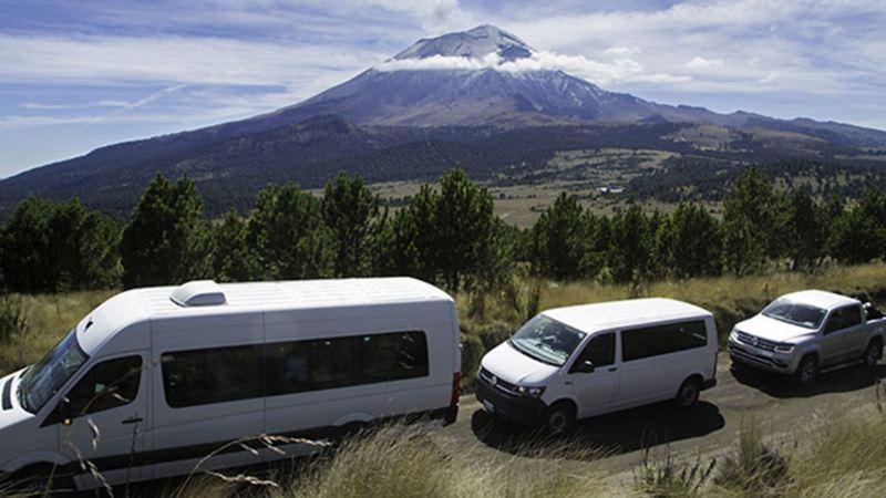 Vehículos Comerciales de Volkswagen participando en Cumbre Itza
