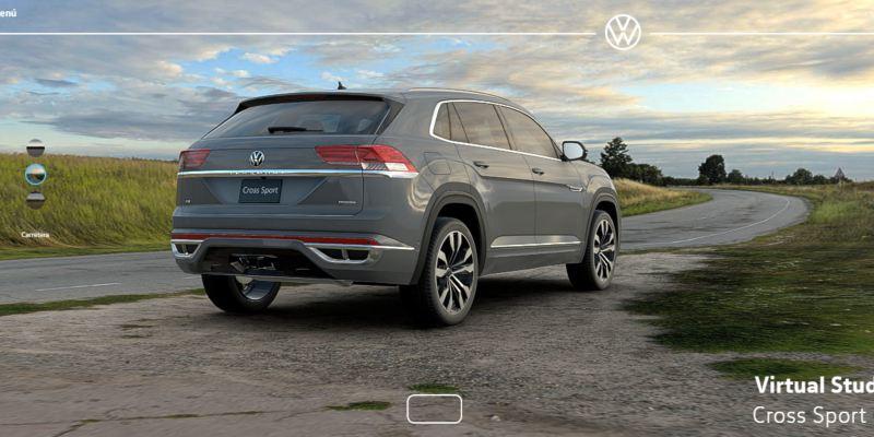 Descubre Cross Sport SUVW con Virtual Studio