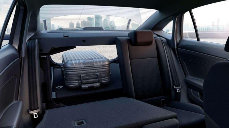 VW Virtus - Sedán equipado con maletero amplio y asientos abatibles