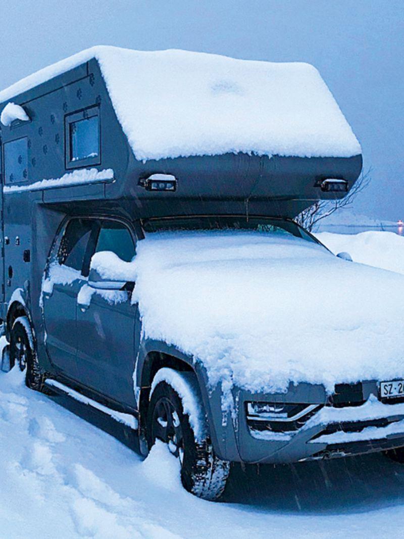 Amarok sta nella neve