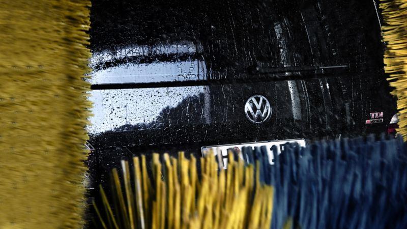 Volkswagen service car wash