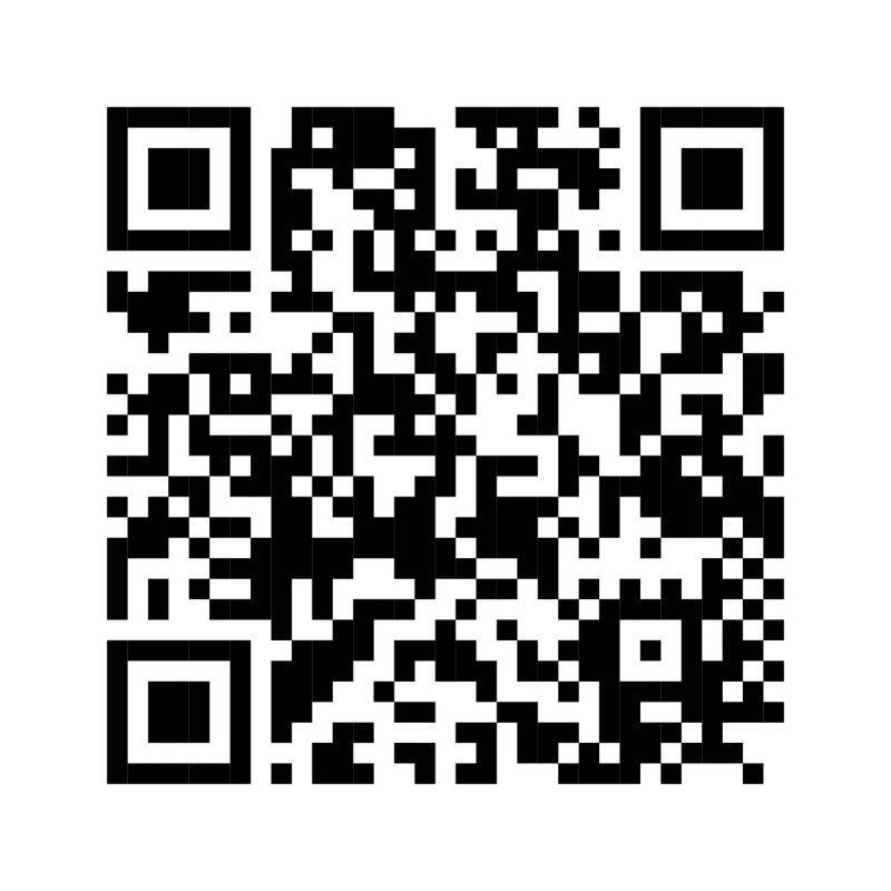 QR code pour l'application We Connect dans l'App Store.