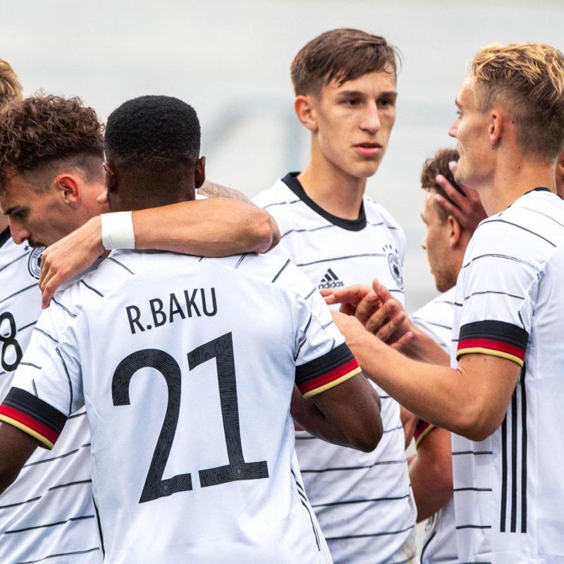 DFB, U21-Nationalmanschaft, Ridle Baku, Nico Schlotterbeck, Amos Pieper