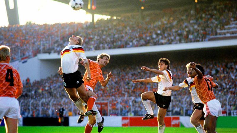 EM 1988 - Deutschland vs. Niederlande - Elfmeterszene