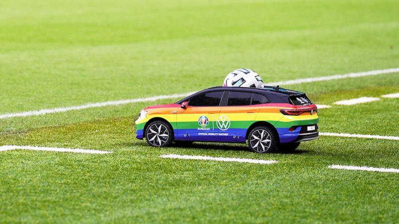 UEFA EURO 2020, EM 2020, Volkswagen, ID.4 tiny car