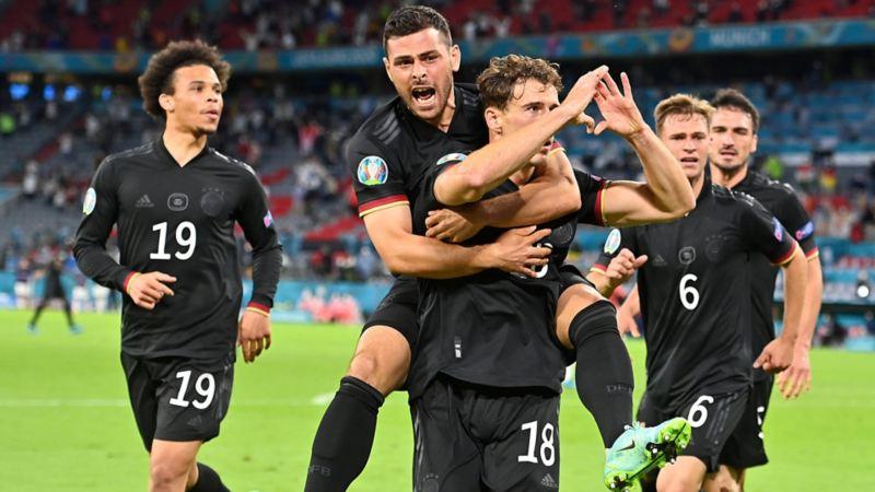 EFA EURO 2020, EM 2020, Deutschland – Ungarn, Leon Goretzka, Kevin Volland, Leroy Sané