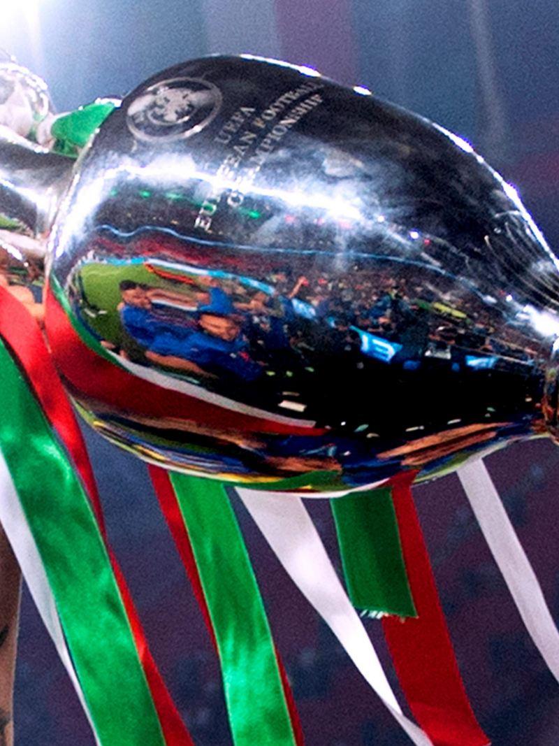 UEFA EURO 2020, EM 2020, Trophäe, Italien, Wembley