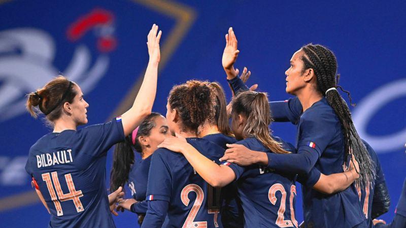 Frankreich, Frauen-Nationalmannschaft, Charlotte Bilbault, Sandy Baltimore