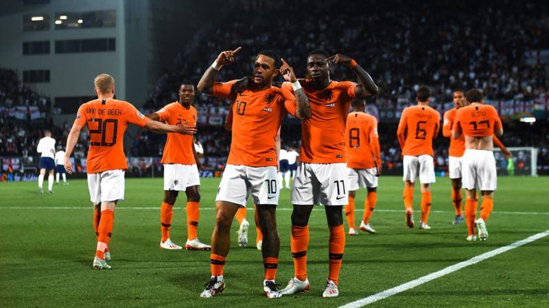 Nations League Semi Finals Niederlande Jubel