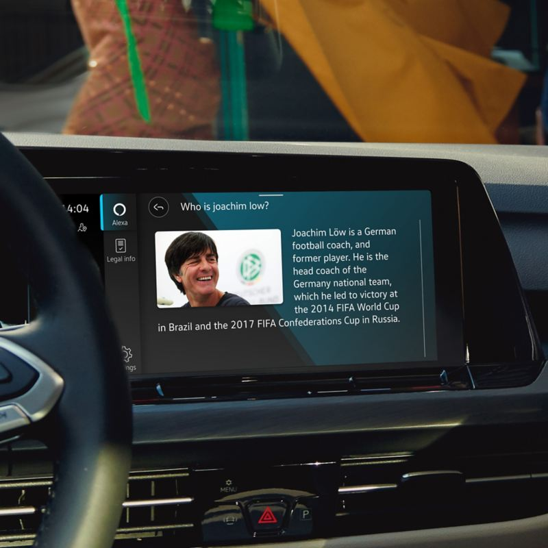 Using Voice control with the Amazon Alexa in-car app