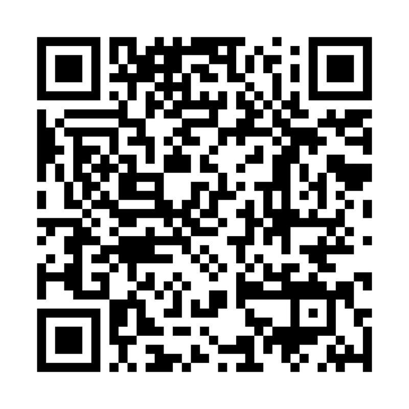 Un codice QR dell'app We Connect nel Play Store.