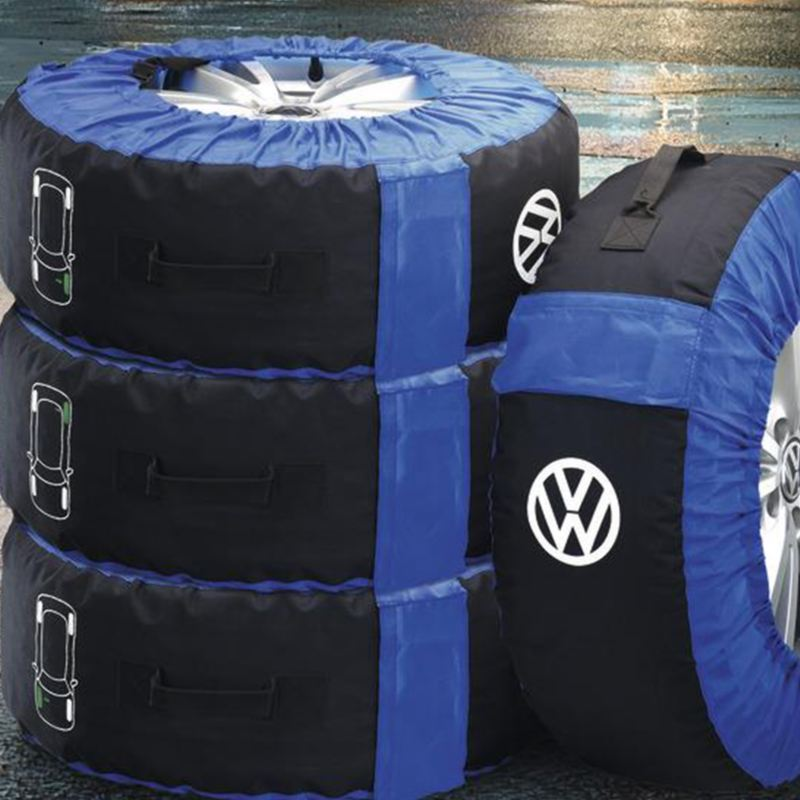 Wheels inside Volkswagen covers, link out to vwpartsandservice.ca