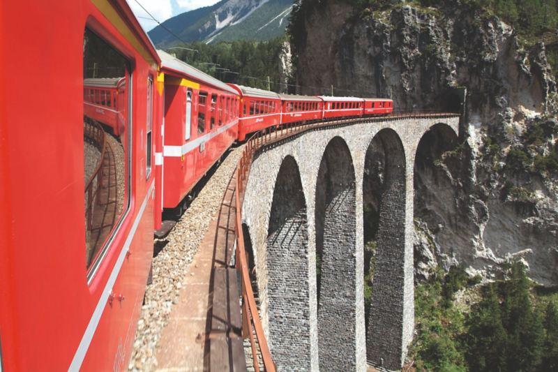 Landwasser Viaduct.