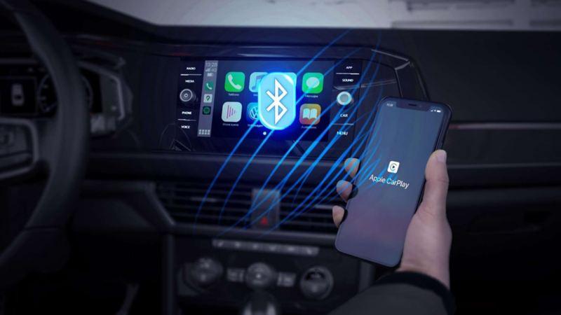 Wireless App Connect, sistema de conectividad automotriz dentro de autos y SUVs VW